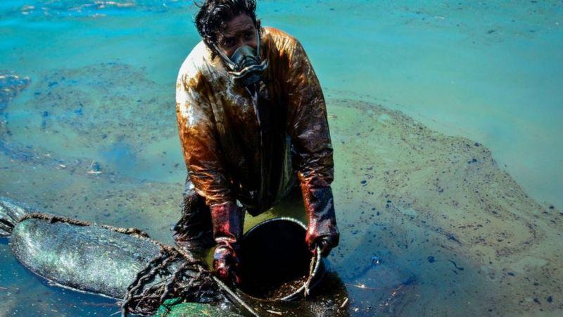モーリシャス沖で重油流出2020年8月